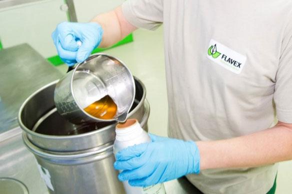 Abfüllung CO2-Extrakt
