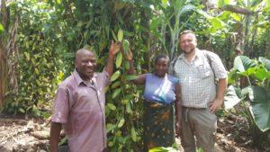 Nachhaltige Partnerschaft für Bio-Vanille aus Uganda