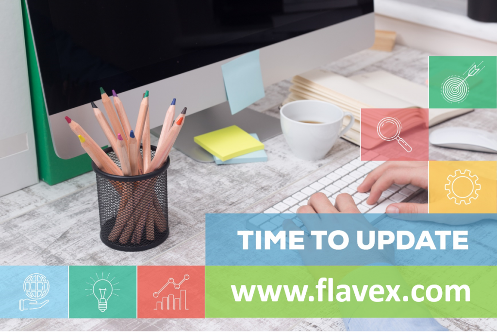 Update FLAVEX website